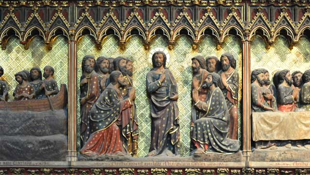 Image result for risen christ in notre dame de paris